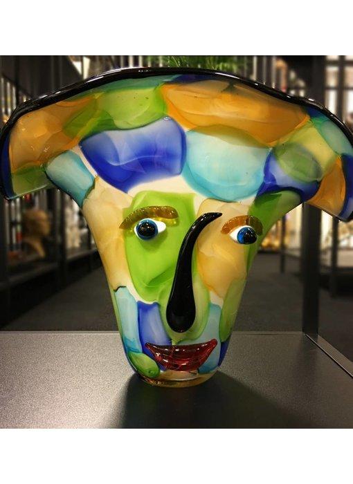 Eldig GlasArt Design-Vase  Visto