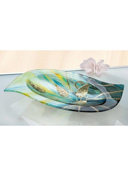 Eldig Glass bowl Gold leaf