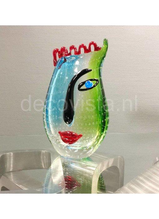 Eldig Glas Design Vase Cool Water