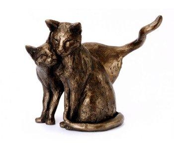 Frith Skulptur  Katzen -  Making Friends