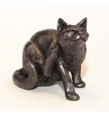 Frith Katze Skulptur Frith - kratzende Katze Whiskey