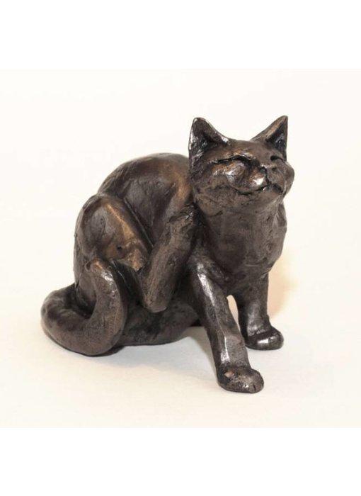 Frith Kat sculptuur Frith - krabbende kat