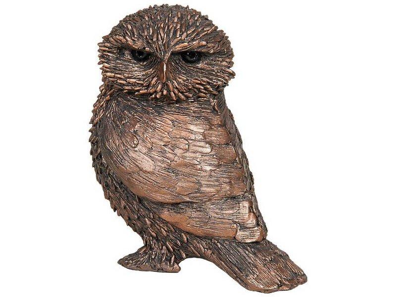 Frith Skulptur kleine Eule Olly von Thomas Meadows
