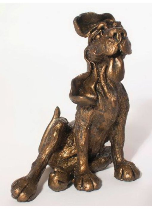 Frith Sculpture dog Rusty