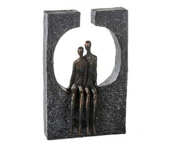 Casablanca Skulptur Zusammengehörigkeit