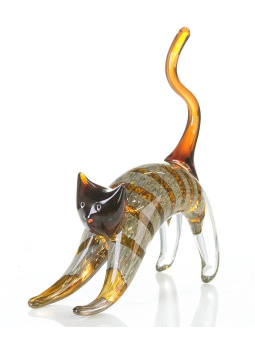 Vetro Gallery Katze Glasskulptur