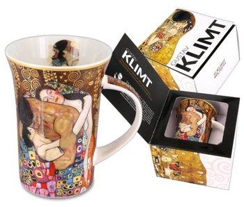 Carmani Mug, bone china - The Familyby Gustav Klimt