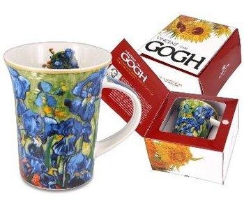 Carmani Taza de café Lirios  de Van Gogh