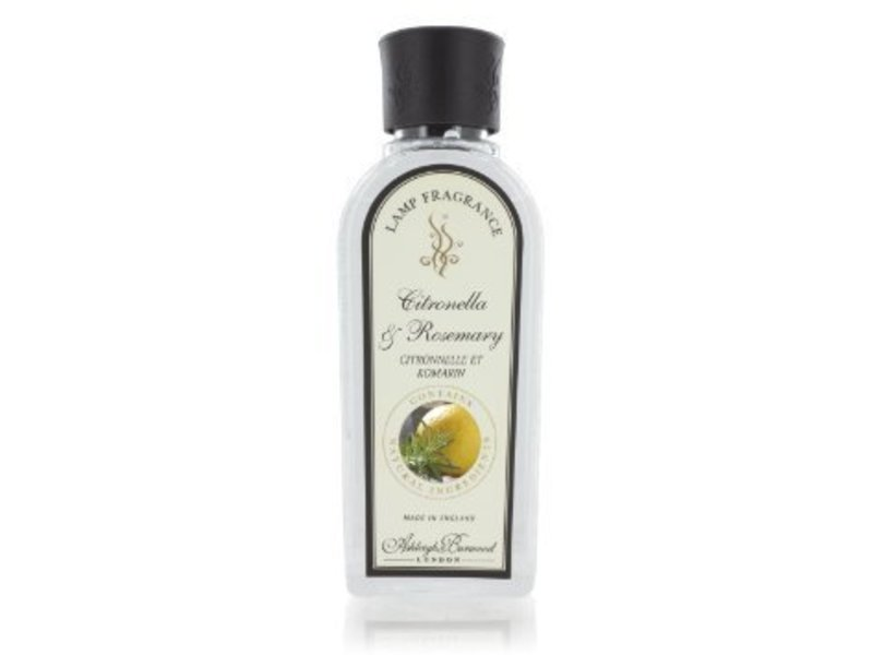 Ashleigh & Burwood Geurlamp olie  Citronella & Rosemary