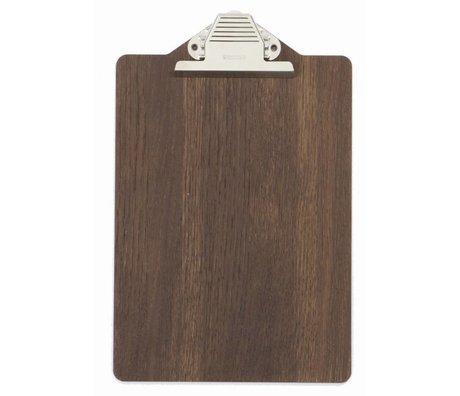 Ferm Living Clipboard brown wood 23x31.5cm