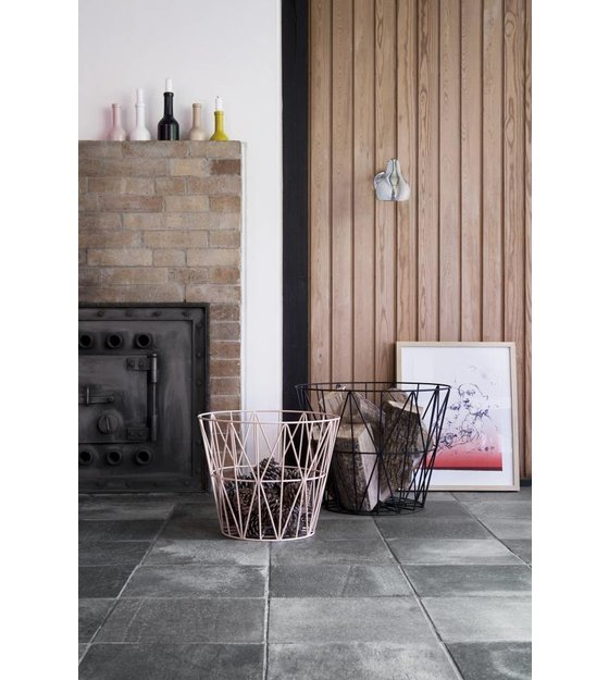 ferm living mand zwart ijzer 3 maten 40x35cm 50x40cm. Black Bedroom Furniture Sets. Home Design Ideas