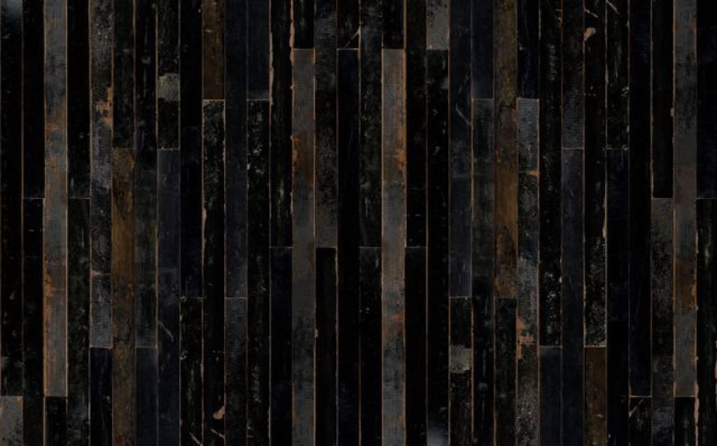 Piet hein eek demolition holz wallpaper 05 wonen met lef for Holz wallpaper