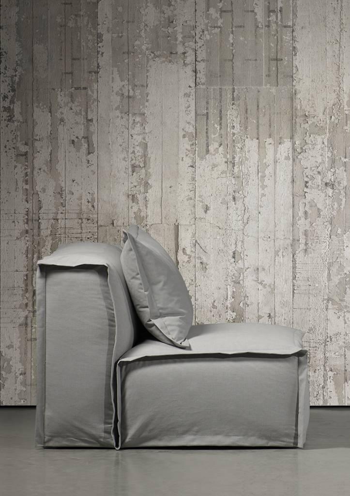 Nlxl piet boon behang betonlook concrete6 grijs 9 meter - Behang effect van materie ...