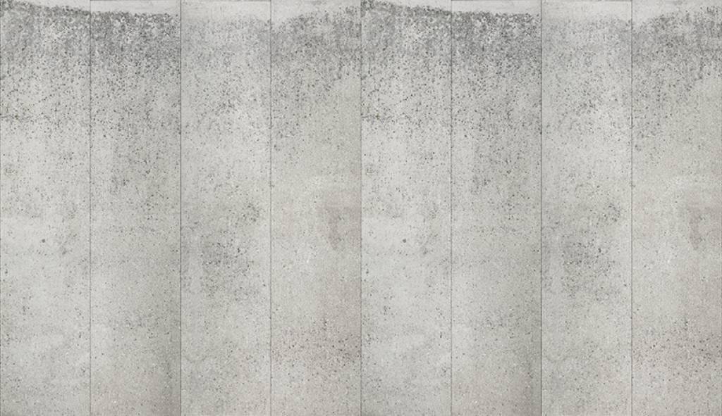Piet boon behang betonlook concrete5 grijs 9 meter - Grijs behang ...