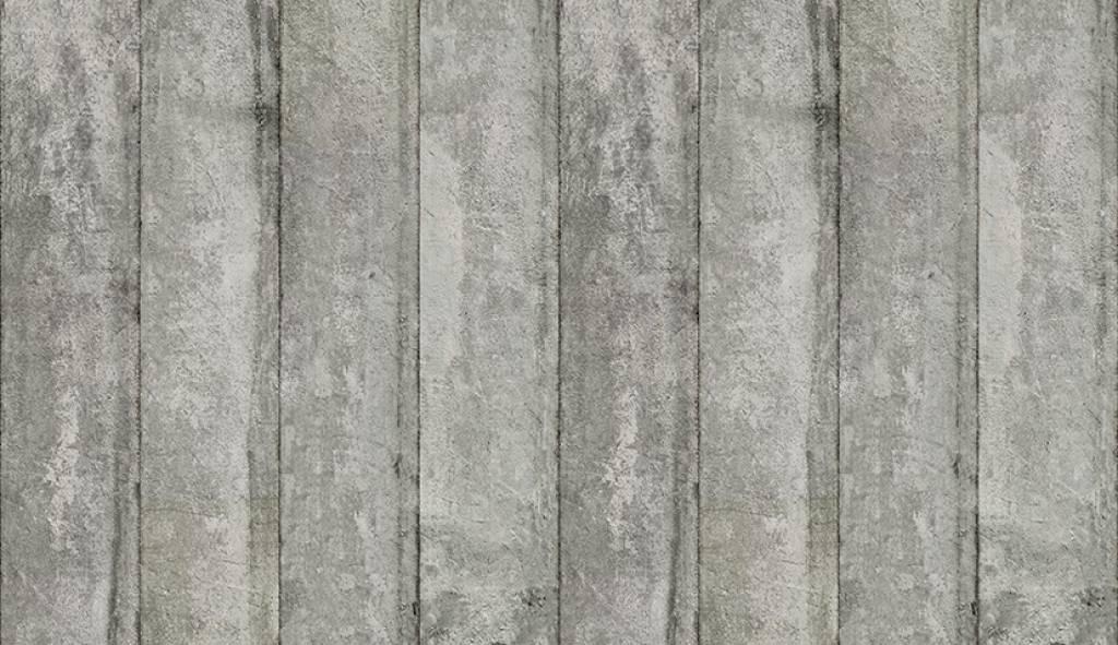 NLXL-Piet Boon Behang betonlook concrete3, grijs, 9 meter ...