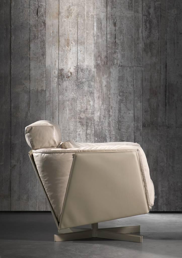 NLXL-Piet Boon Behang betonlook concrete2, grijs, 9 meter ...