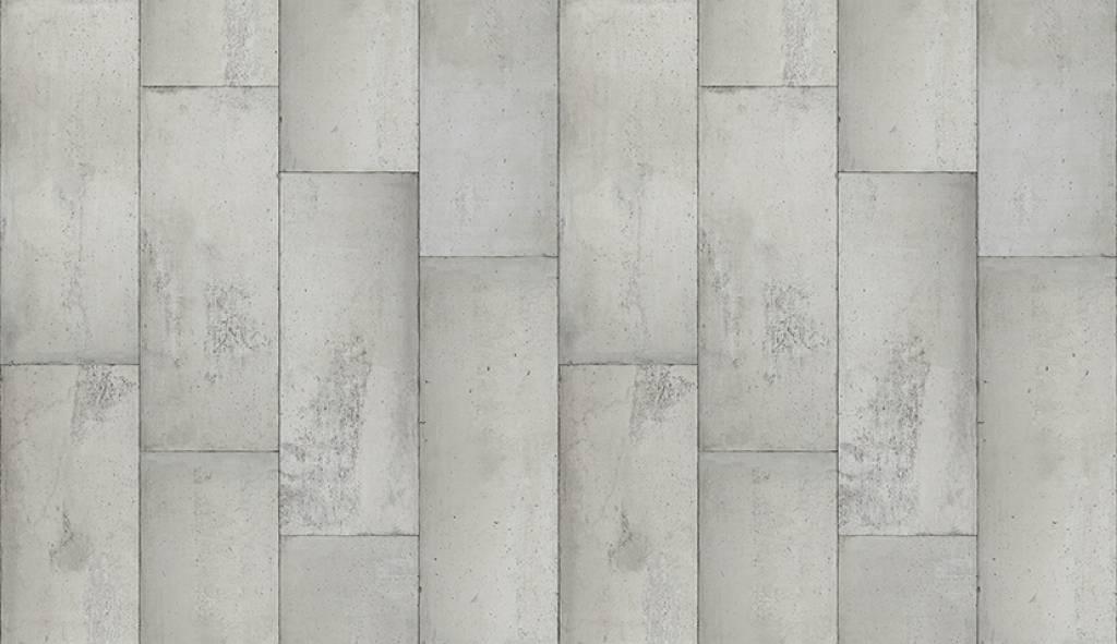 Piet Boon Behang betonlook concrete1, grijs, 9 meter ...