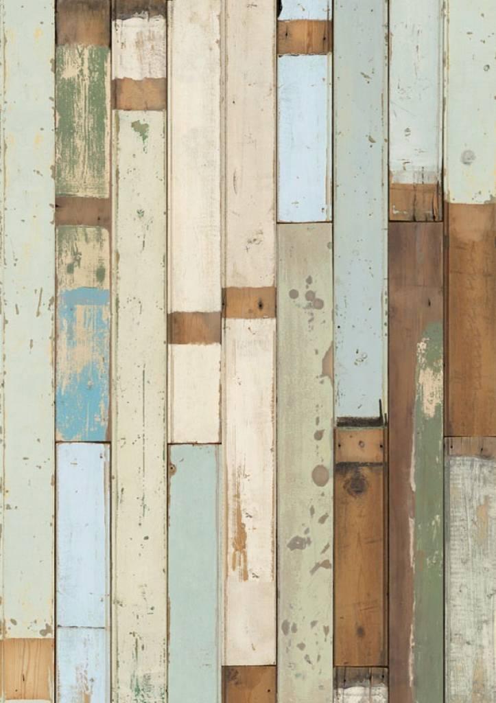 Piet hein eek demolition holz wallpaper 03 wonen met lef for Holz wallpaper