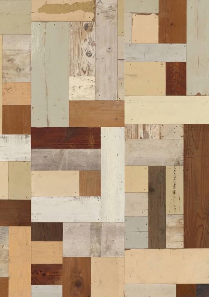 Nlxl piet hein eek demolition wood wallpaper 06 wonen for Demolition wood for sale