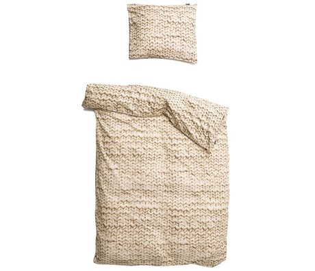 Snurk Beddengoed Couette Twirre beige 3 tailles