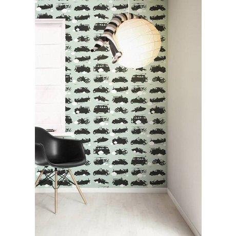 KEK Amsterdam Behang groen Toys for Boys 146,1 x 280cm 4m²