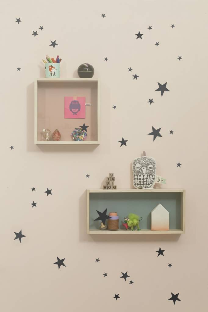 Ferm living muursticker mini sterren wall stickers mini for Sticker habitacion infantil