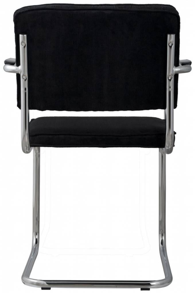 Zuiver dining stuhl mit armlehne schwarz stricken for Stuhl mit armlehne schwarz
