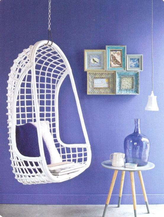 Blog blauwe wooninspiratie door ariadne at home - Zwart meisjes kamer en witte ...