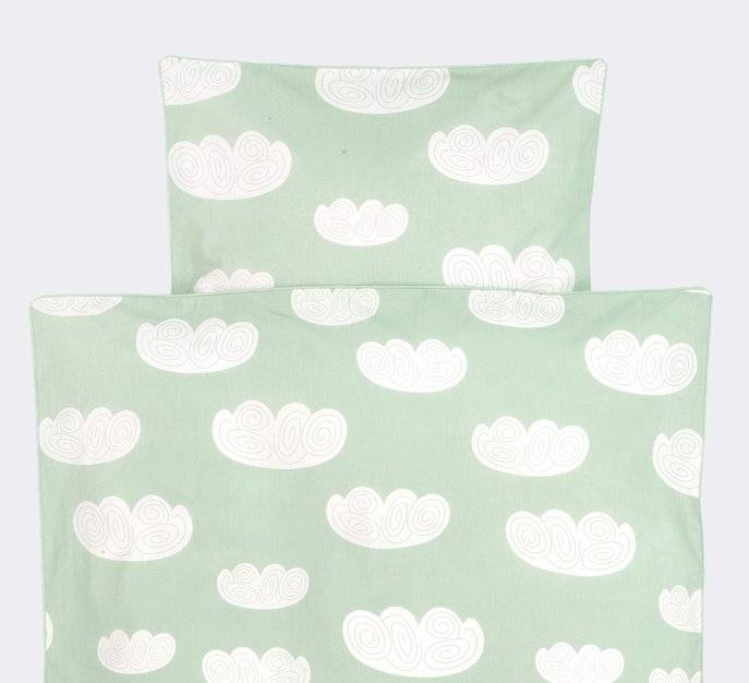 Ferm Living Duvet Cloud Clouds Mint Green Cotton 70x100 Cm