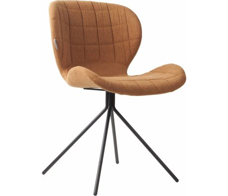 Zuiver Dining chair OMG camel brown 50x56x80cm