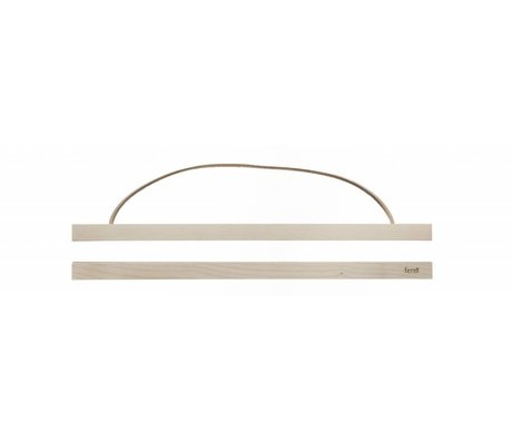 Ferm Living Suspension Poster Maple wood wood 51x2 cm