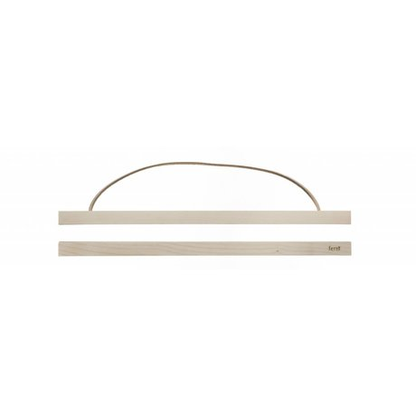 Ferm Living Ophangsysteem voor posters Maple wood hout 51x2 cm