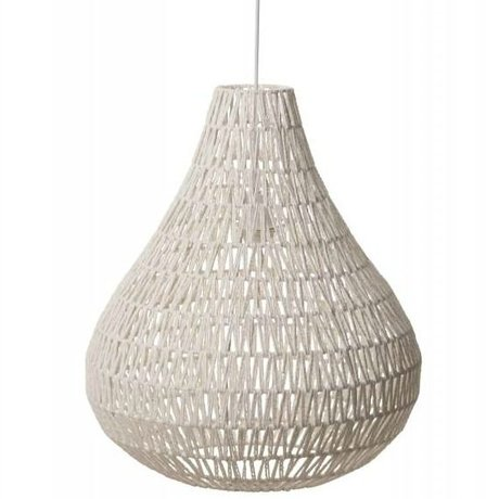 Zuiver Hanging lamp CableDrop white Ø45cm