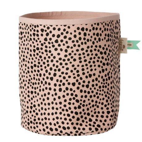 Ferm Living Mand Billy Basket roze small 21x25cm