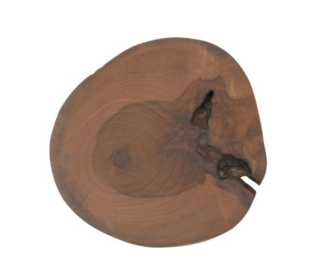 Storebror Hook brown wood 3 sizes Ø5,7 and 10cm