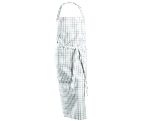 Nicolas Vahe Cooking Apron white cotton