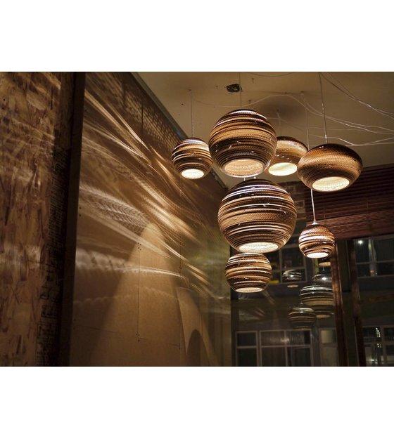 graypants hanglamp moon 14 bruin karton à 36x31cm wonenmetlef