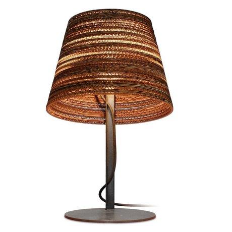 Graypants Tafellamp Tilt Table bruin karton Ø34x24xm