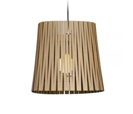 Graypants Hanglamp Ripley zwart karton Ø29x31cm