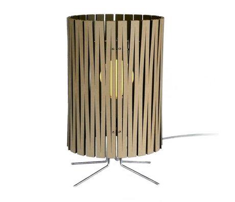 Graypants Lampe de table Palmer carton noir Ø21x39cm