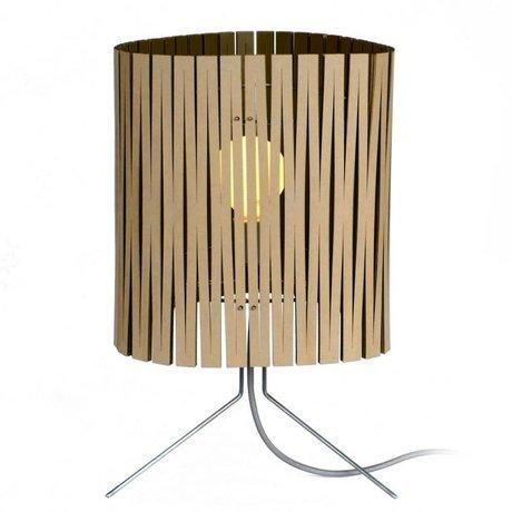 Graypants Table Lamp Leland black cardboard Ø26x47cm