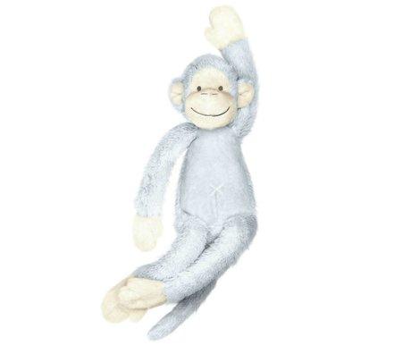 KEK Amsterdam Muursticker Monkey Mickey blauw 13x32cm