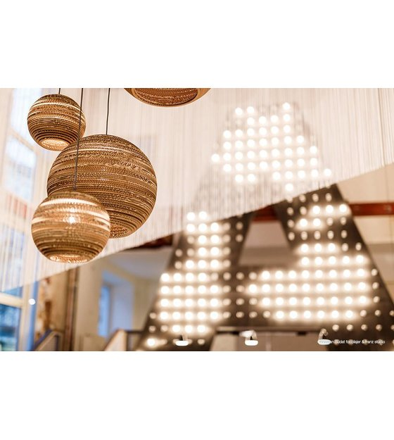 graypants hanglamp moon 18 bruin karton à 45x40cm wonenmetlef