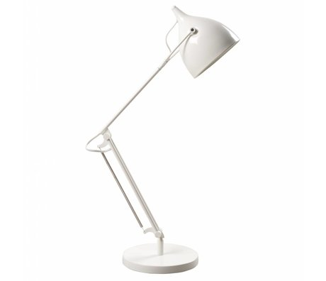 Zuiver Table Lamp Reader metal matt white Ø22xH76cm