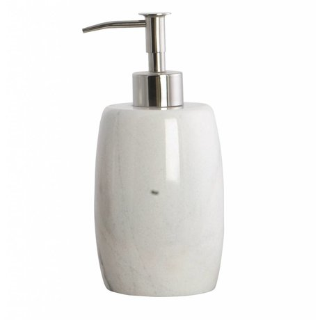 Housedoctor Soap Pump Marble gray ø8,4x17,5cm