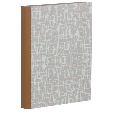 Ferm Living Maze Binder binder mint mint green brown 25x31.5cm
