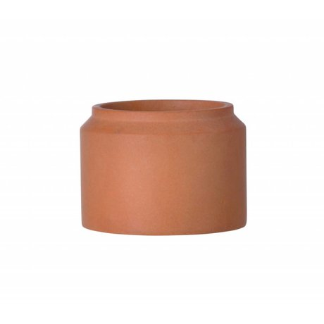Ferm Living Pot plant for concrete Ochre small ø15x11cm