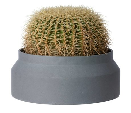 Ferm Living Pot plant for large dark gray concrete ø45x19cm