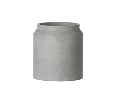 Ferm Living Pot plant for light gray concrete small ø18x16cm