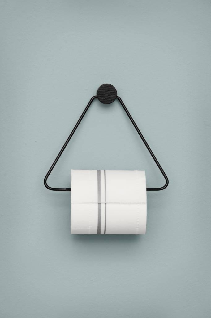 Ferm living porte rouleau de toilette 17x5x15cm en m tal for Porte living